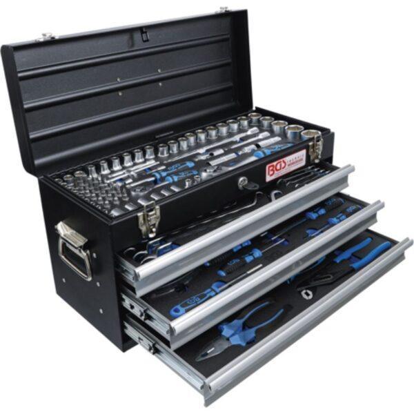Työkalusarja 143 työkalua BGS 3318, metallinen työkalupakki