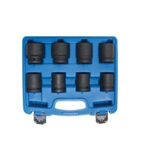 Voimahylsysarja 8 osaa koot 22 - 38 mm BGS