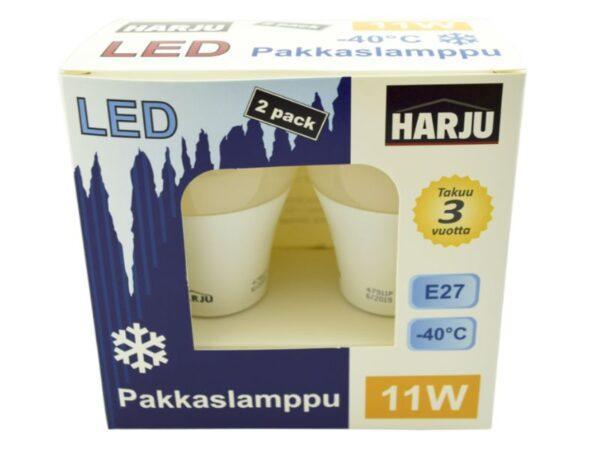 Electrogear Pakkaslamppu 11 W E27 -40°C 1050 lm 4000 K, 2 kpl