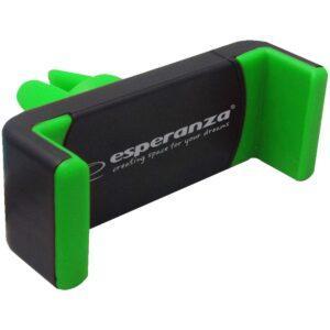 Puhelinteline autoon musta vihreä ESPERANZA