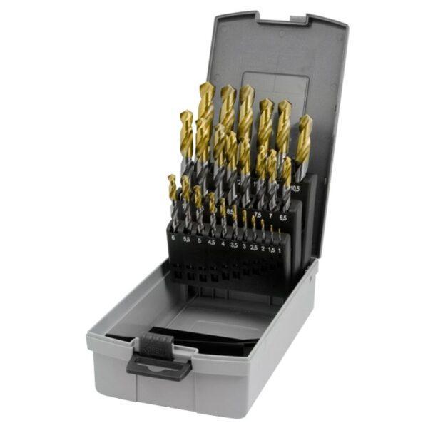 Ruko Metalliporanteräsarja TIN 25-os. 1-13 mm