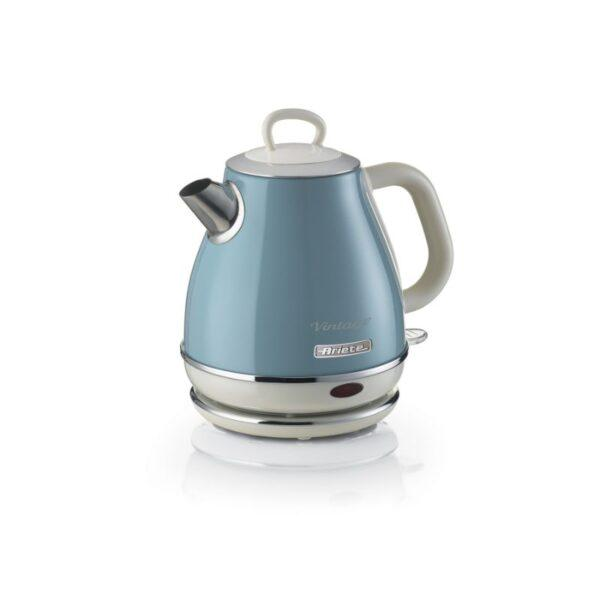 sininen retro vedenkeitin 1 litra ariete vintage