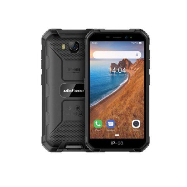 Ulefone Armor X6 Iskunkestävä älypuhelin mustan värinen