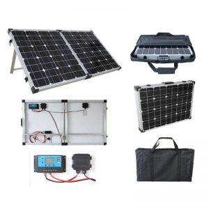 Brightsolar 40W kannettava ja taitettava aurinkopaneeli, sis säätimen