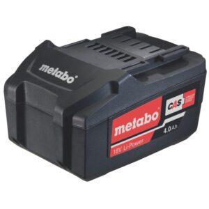 Metabo 18V 4.0 Ah Li-Power älykäs akku