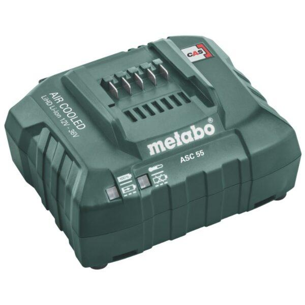 Metabo Akkulaturi ASC 55, 12-36 V, ilmajäähdytys