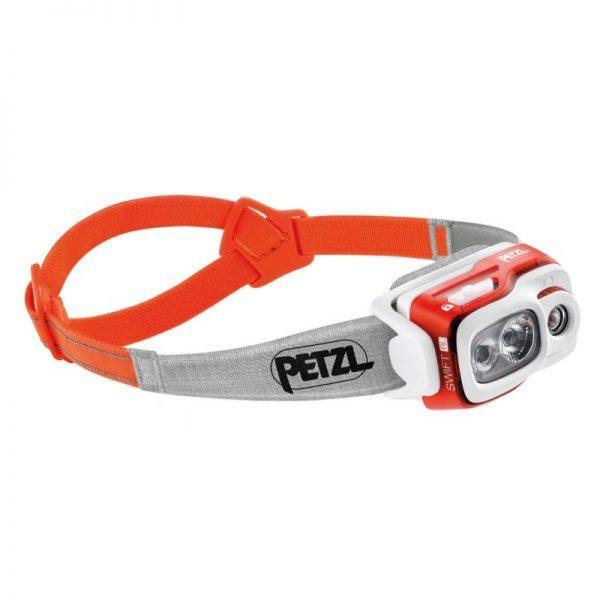 Otsalamppu SWIFT RL Oranssi PETZL 900lm 2350 mah akku