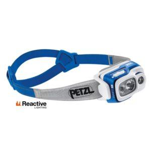 Otsalamppu SWIFT RL Sininen PETZL 900lm 2350 mah akku