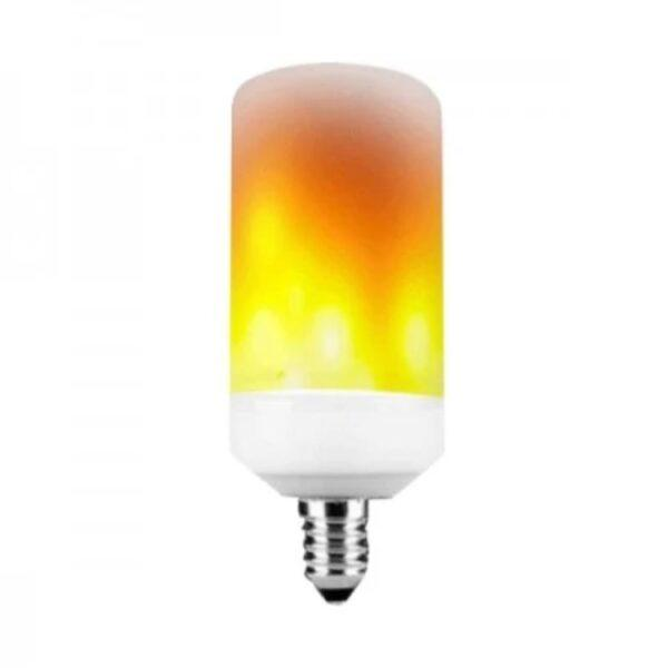 LED-liekkilamppu E14