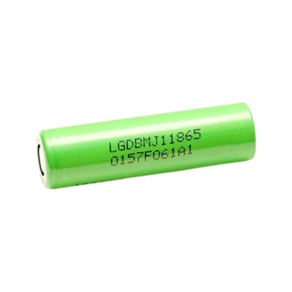 Ladattava 18650 Li-ion 3.6V 3500 mAh akku, LG