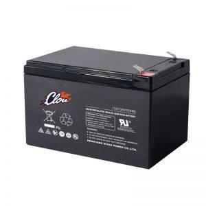 Clou 12120 huoltovapaa AGM akku 12 Ah/12 V F2