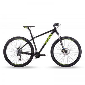 "HEAD Granger I 29"" - maastopyörä, 47 cm, mattamusta/vihreä"