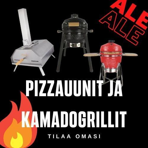 Kamado-grillit ja pizzauunit