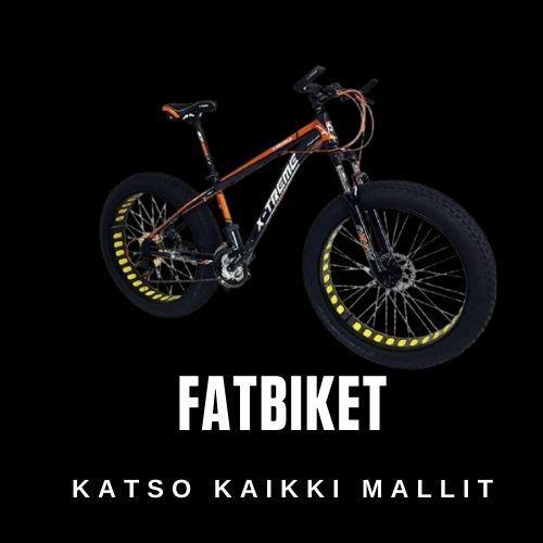 Fatbike polkupyörät