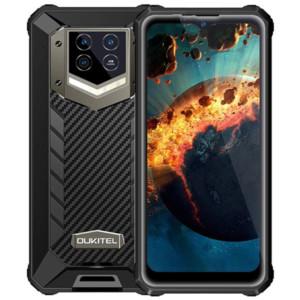 Oukitel WP15, 8GB + 128 GB, 15600mAh akku, musta - IP68 älypuhelin