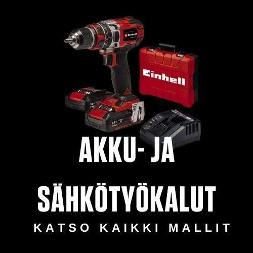 Akku- ja sähkötyökalut